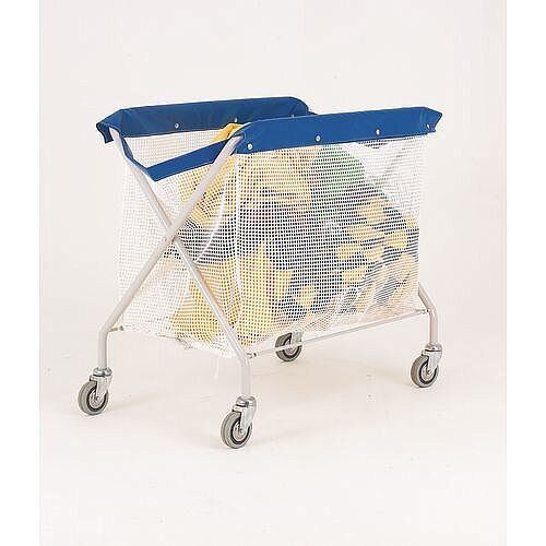 Linen Truck With Pvc Bags With String Mesh Bag Capacity 120kg