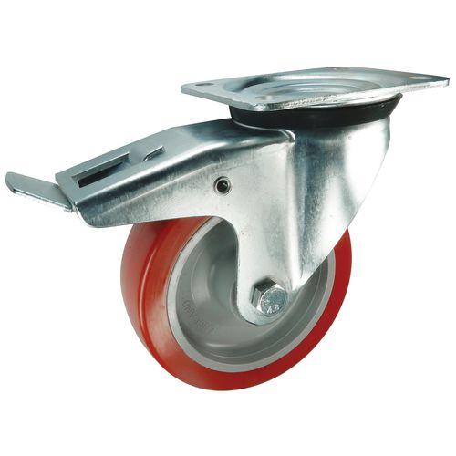 Polyurethane Tyred Wheel, Medium Duty