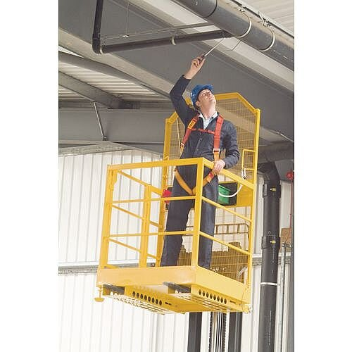 Access Safety Platforms Heavy Duty Safety Height 2.2m Access Platform Yellow