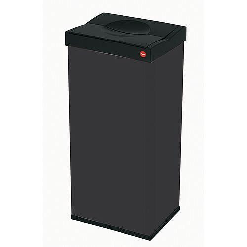 Simplehuman Swivel Top Waste Bin 40L Black