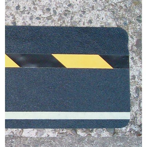 Hazard Warning Tape Multi Warning Glow In The Dark  Hazard Warning Diagonal Stripe 150 x 610mm Pack 10