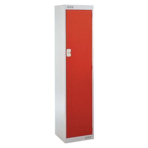 Office Locker Door Colour Red