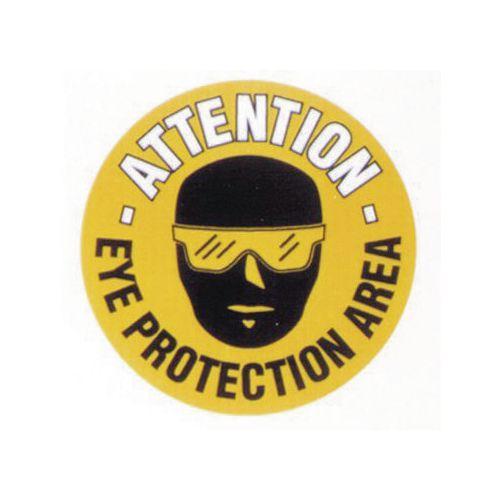 Floor Graphic Marker Eye Protection Area 430mm Diameter Slip Resistant