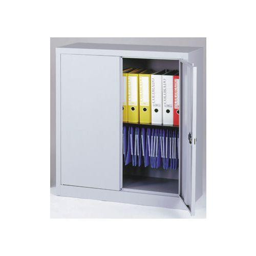 Cupboard Stationery Small HxWxD 1000x914x400 Goose Grey