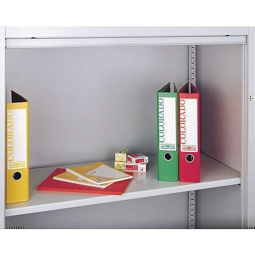 Shelf Standard To Suit Bisley Side Opening Tambour Cupboard Black - Shown in Grey