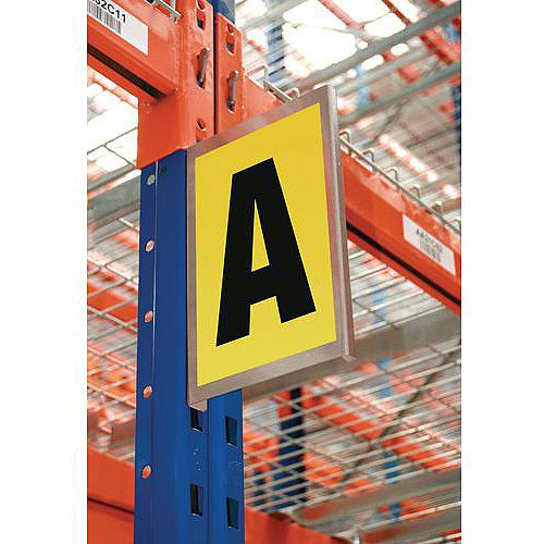 Bay Marker Magnetic 260 X 167mm Accommodates 1 Digit