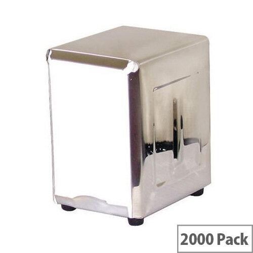 2ply White Napkins Pack of 2000