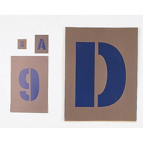 Stencils Letter And Number Sets 25mm