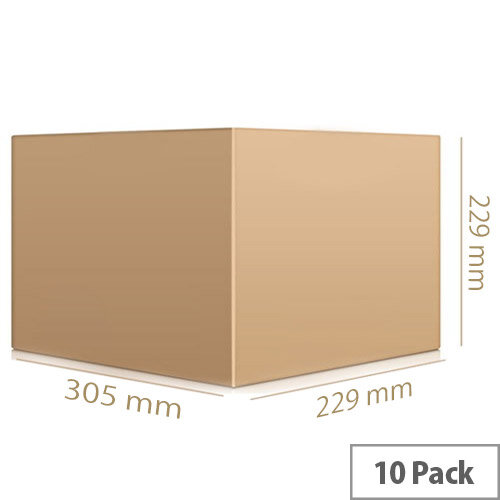 Double Wall Carton 305x229x229 Pack of 10