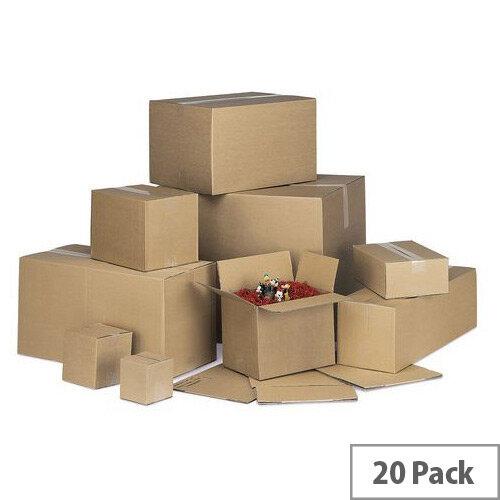 Single Wall Carton 559x381x152mm Pack of 20