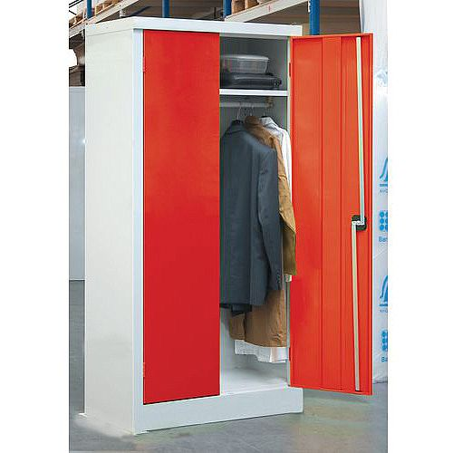 1200mm Width Clothing Cupboard Door Colour Red