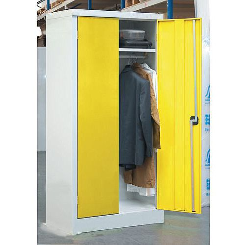 1200mm Width Clothing Cupboard Door Colour Yellow