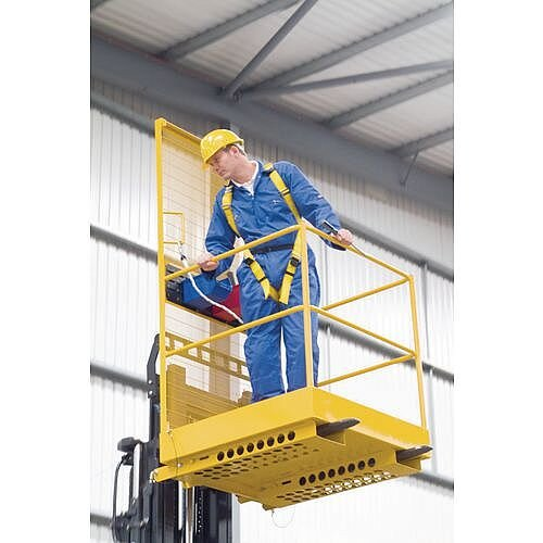 Access Safety Platforms Personnel Lift Economy Height 2.1m Yellow PM28 &GN48 Standards