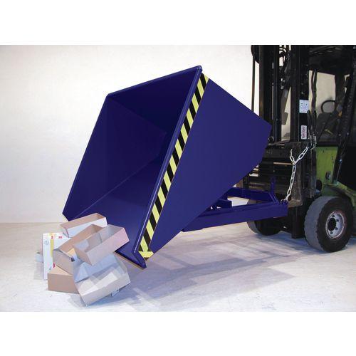 Universal Roll Forward Skip 1500kg Blue SY315524