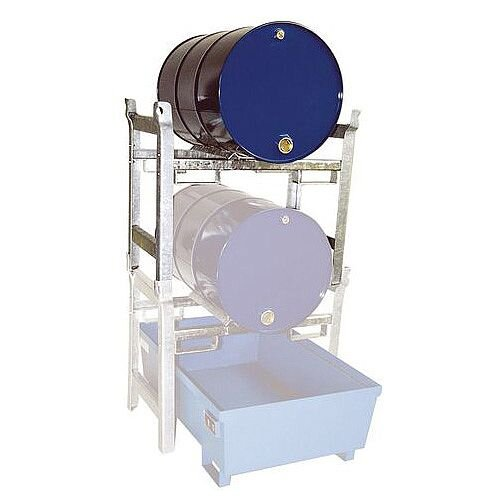 Horizontal Drum Racking Drum Shelf For 1 x 200L Drum