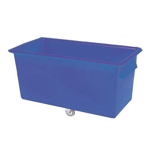 Coloured Truck With Plastic Handles Capacity 412 Litres Blue