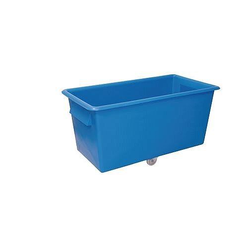 Coloured Truck With Plastic Handles Capacity 307 Litres Blue