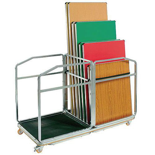 Table Transportation Trolley Rectangular Table Stores Upto 16 1830X760mm Tables