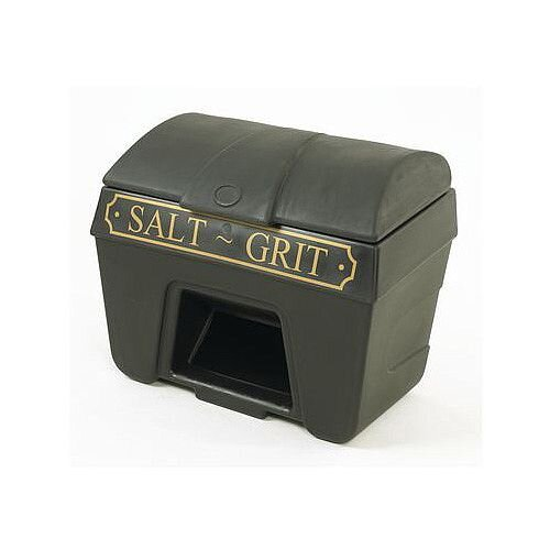 200L Victoriana Salt And Grit Bin With Hopper Feed 200L Capacity