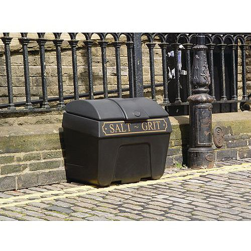 400L Victoriana Salt And Grit Bin Without Hopper Feed 400L Capacity