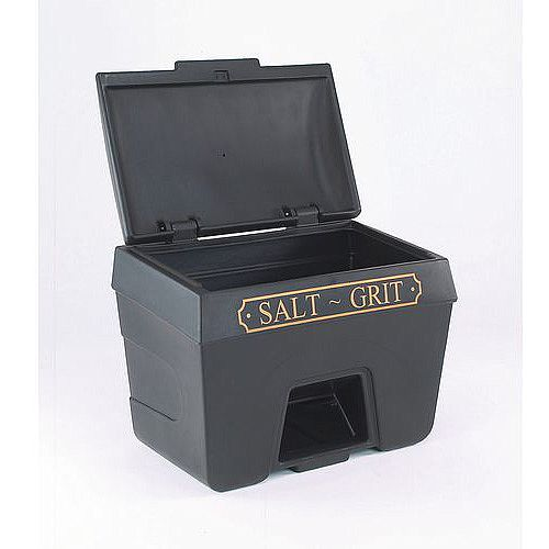 400L Victoriana Salt And Grit Bin With Hopper Feed 400L Capacity