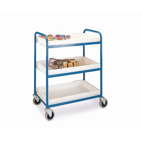 Tray Trolley With 3 Shelves Capacity 150kg