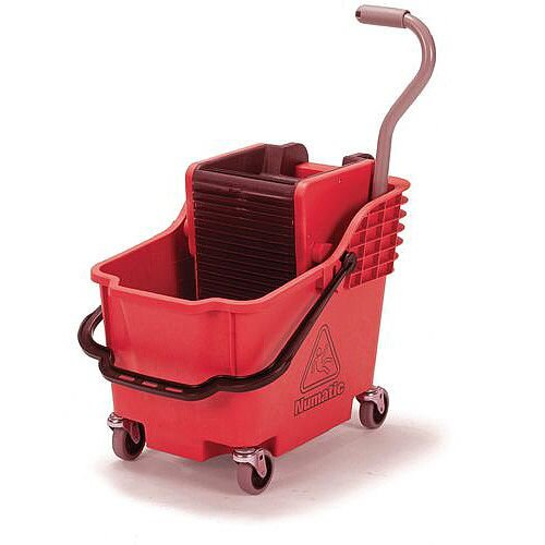 Mopping Kit Red Bucket