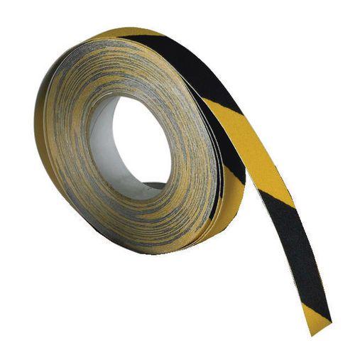 Slip Resistant Floor Tapes Slip Resistant Tape Black &Yellow Self-adhesive 50mm x 18.3m Roll