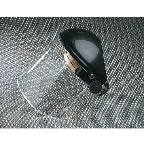 Face Protection Polycarbonate Faceshield Black