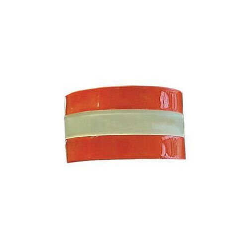 High Visibility Armband Plain Red