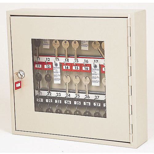 Glass Fronted Key Cabinet 40 Key Capacity