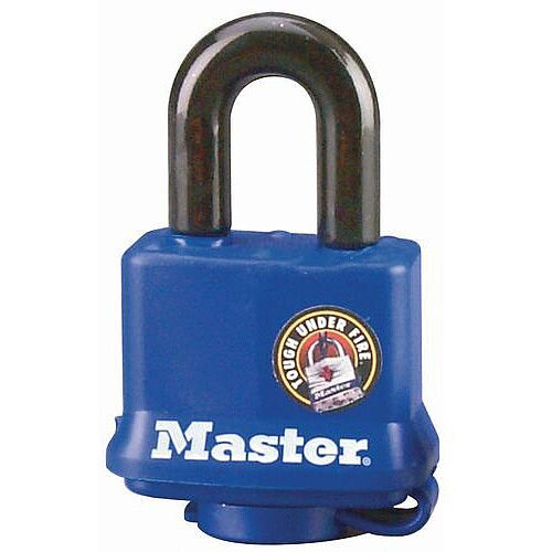 Covered Weather Resistant Padlock