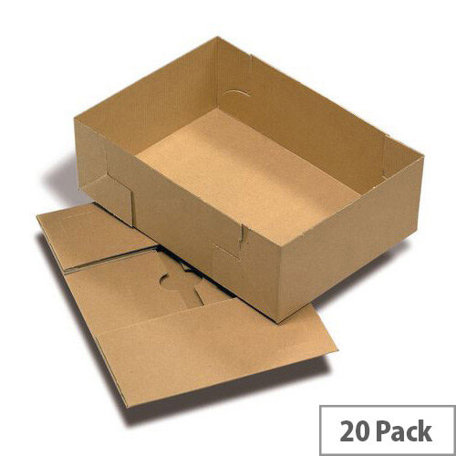 A4 Boxes And Lids 305x215x150mm