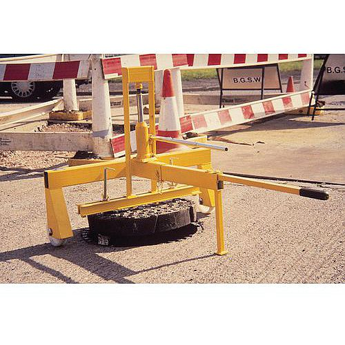 Hydraulic Manhole Cover Lifter Single Hydraulic Lift