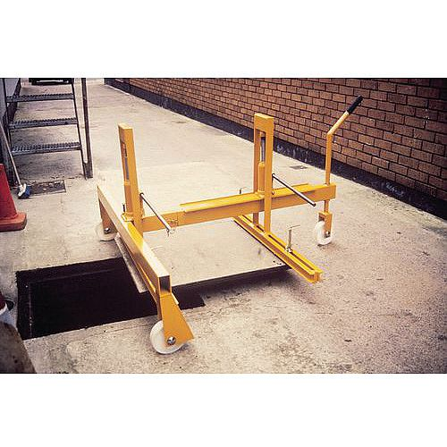 Hydraulic Manhole Cover Lifter Double Hydraulic Lift