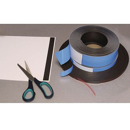 Magnetic Self-Adhesive Strip Wxl 13X30Mm
