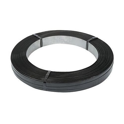 Steel Oscillated Strapping 16Mm Wide 720kg Breaking Strain