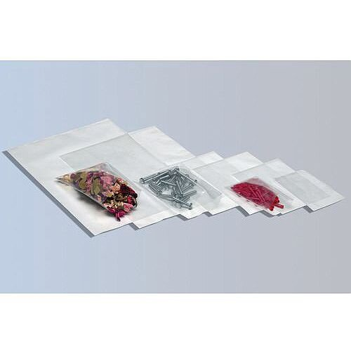 Gripseal Polythene Bags Plain WxL 152x229mm Pack of 1000