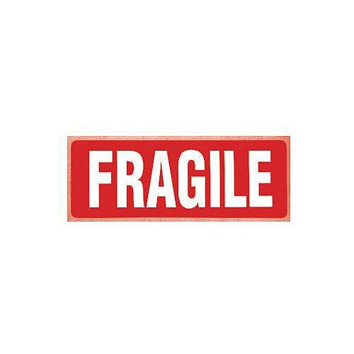 Self Adhesive Labels Fragile