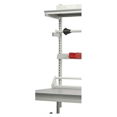 General Purpose Square Tube Workbench Support Posts 760mm High