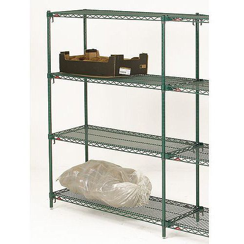 Super Adjustable Metroseal 3 Shelving 610mm Deep HxWxDmm 1895x914x610