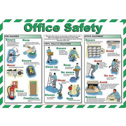 Poster Office Safety