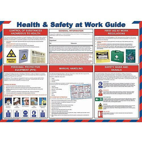 Poster Health &Safety At Work Guide