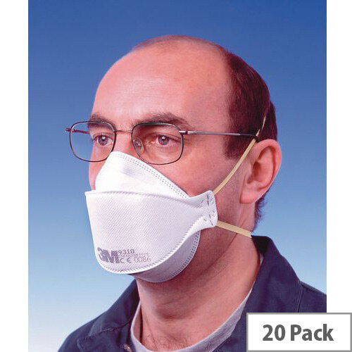 P1 Comfort Plus Disposable Masks P1 Comfort Plus Unvalved Pack of 20