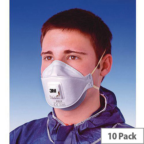 P1 Comfort Plus Disposable Masks P1 Comfort Plus Valved Pack of 10