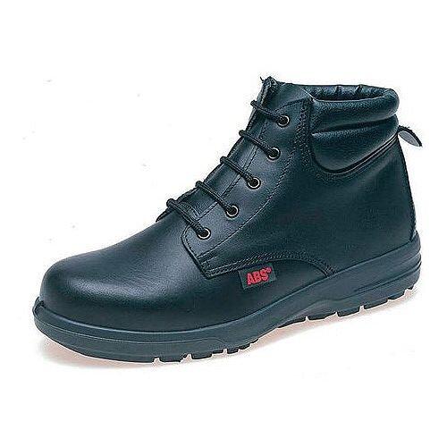 Ladies Black Safety Boots Black Size 5