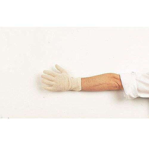 Stockinette Knitwrist Cotton Gloves Men Pack of 20