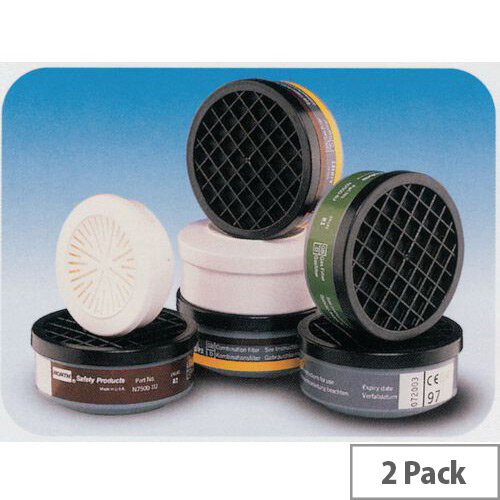 Filters Class 1 Gases &Vapours &Dust Abe1P3 Pack of 2