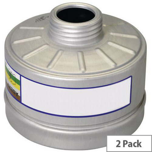 Filters Class 2 Gases &Vapours &Toxic Dusts Abek2 P3 Pack of 2