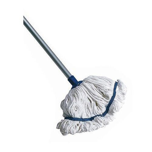 Hygiene Socket Mop With Aluminium Handle Green